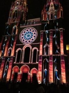 les lumières de Chartres