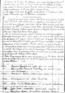 document d'époque